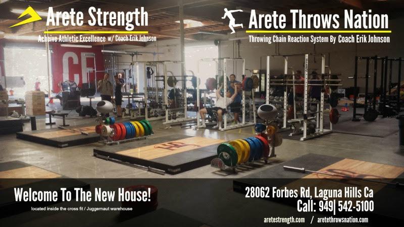 Arete Strength Athlete Training Center